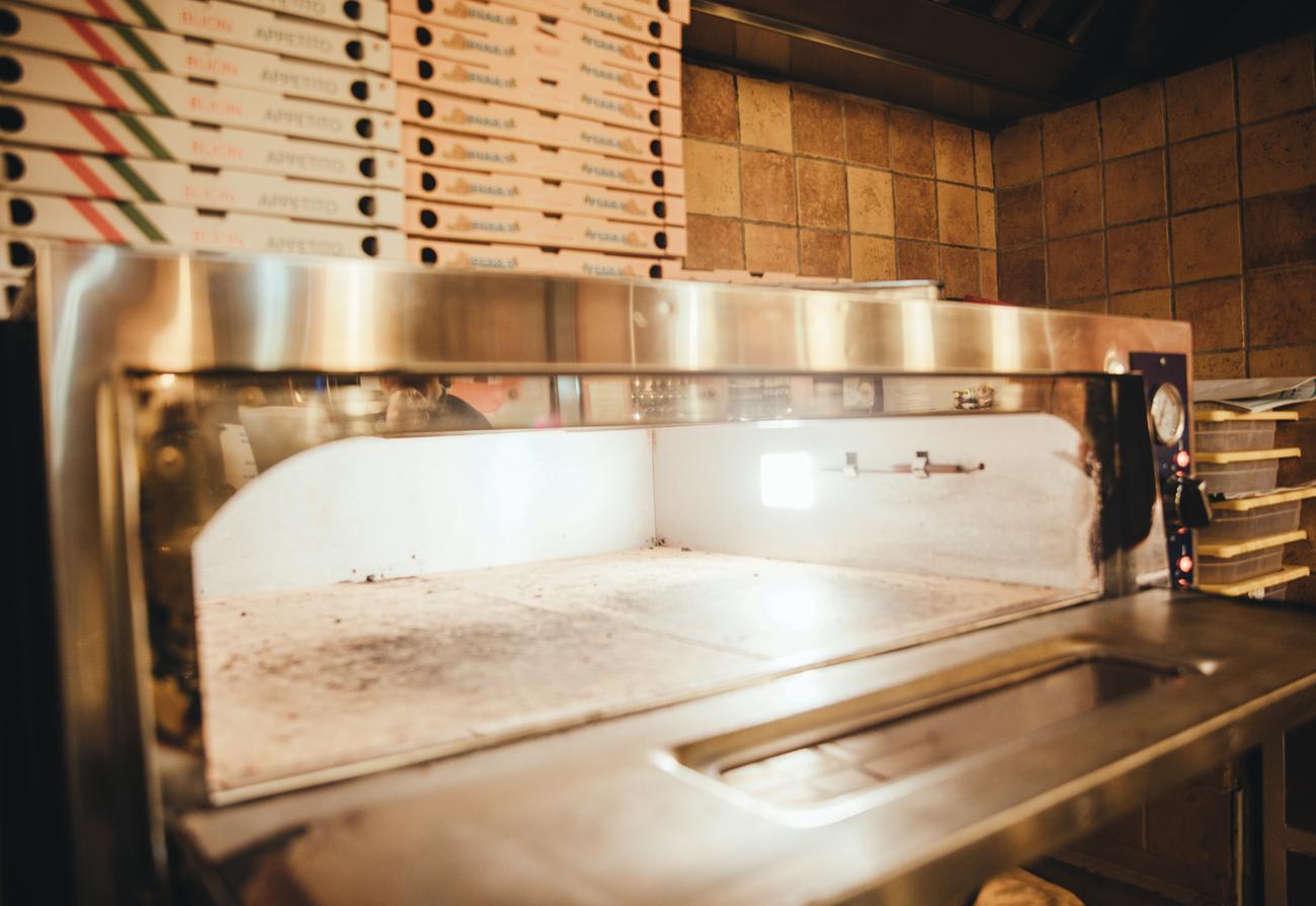 Il forno a legna gluten free